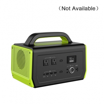 Station d'alimentation portable 500w